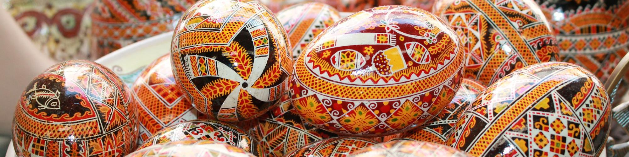 Russian Painted Eggs